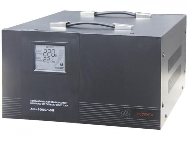 Электромеханический стабилизатор РЕСАНТА ACH-10000/1-ЭМ